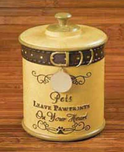 Dog Cremation Urn - Pet Memorial for Ashes - Russ Berrie