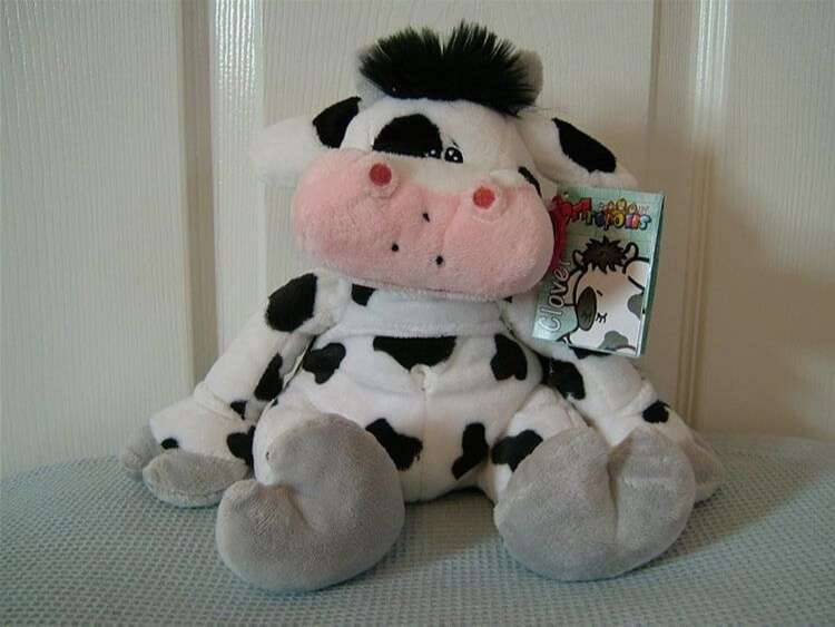 Keel Toys Cow Clover The Cow Keel Soft